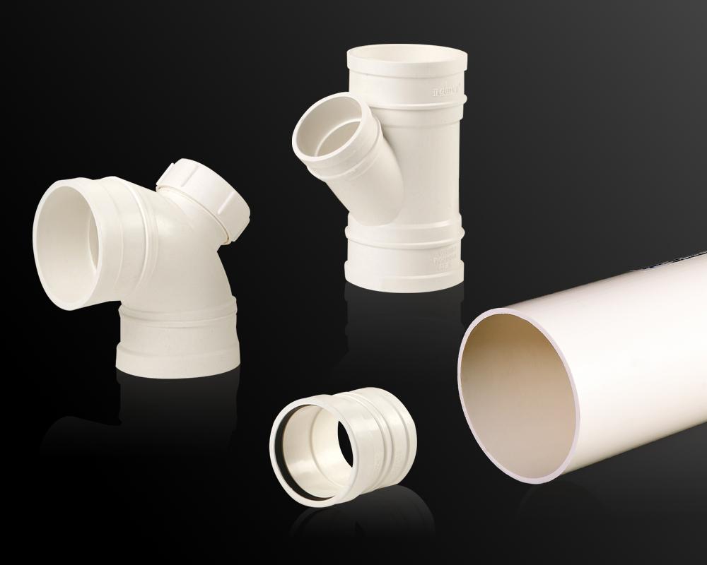 无压埋地排污、排水用硬聚氯乙烯(PVC-U)管