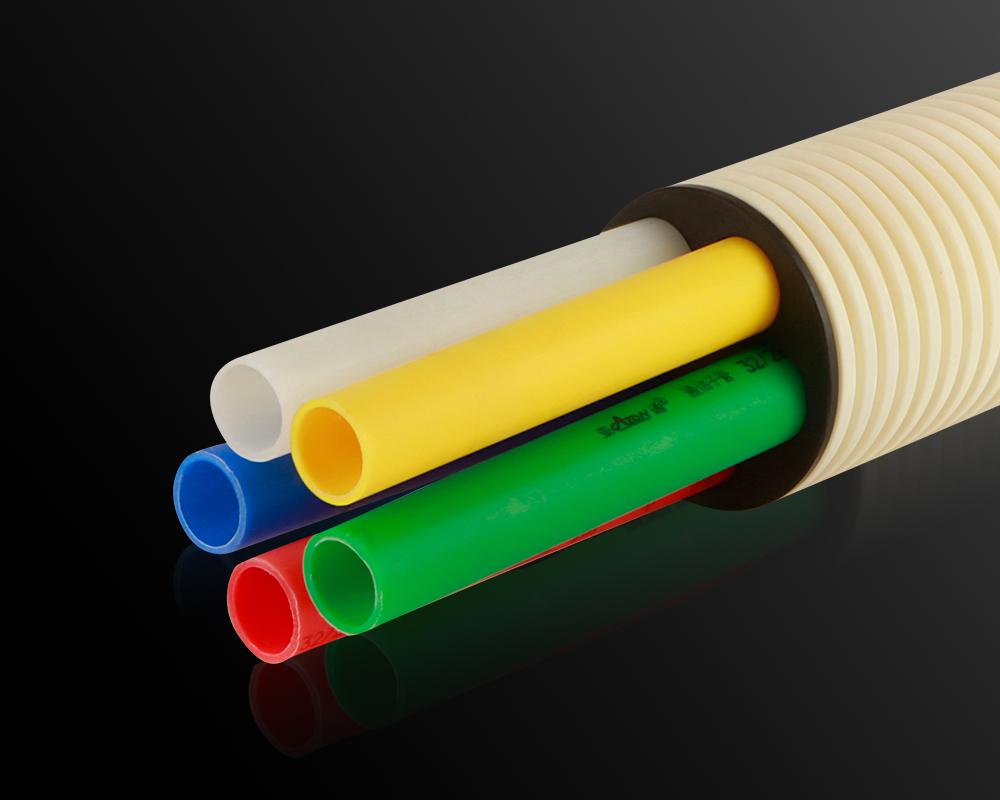 通讯用PE光壁子管
